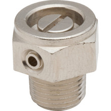 Stubby Nickel Plated Air Valve