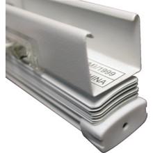 "107x96"" Alabaster 1"" Aluminum Horizontal Blind"