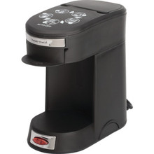 Haus-Maid 1 Cup Coffeemaker in Black