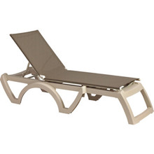 Calypso Adjustable Sling Chaise Package Of 2