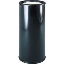 Rubbermaid 3.5 Gallon Black Sand Top Urn