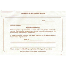 Room Maintenance White Package Of 100