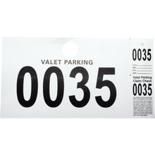 Valet Parking Ticket Package Of 1000