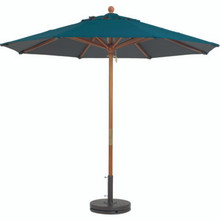 7 1/2' Push Up Umbrella Hunter Green