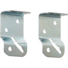 Silver Universal Mount Roller Shade Bracket Package Of 2