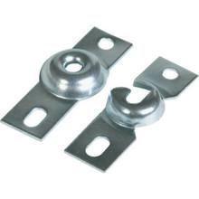 Silver Inside Mount Roller Shade Bracket Package Of 2