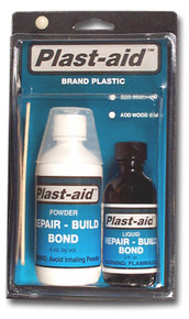 Plast-Aid Plastic Repair Epoxy Glue 6oz