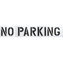 """No Parking"" Parking Lot Stencil"