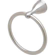 Seasons Anchor Point Brushed Nickel Towel Ring