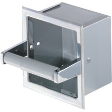 Franklin Brass Chrome Toilet Paper Dispenser Recessed