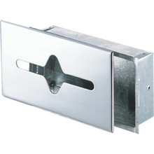 Recessed Mount Tissue Cabinet Chrome