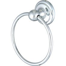 Franklin Brass Jamestown Chrome Towel Ring
