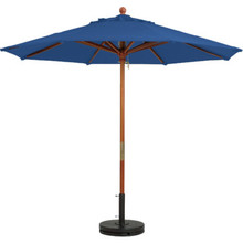 7-1/2' Market Umbrella Pacific Blue