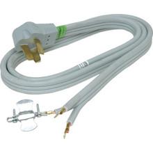 4' 3 Wire 50 Amp Range Powr Supply Cord