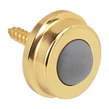 1 Polished Brass Commercial Wall Mount Door Stop Package of 10