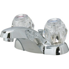 Moen Chateau Lavatory Faucet Acrylic/Chrome Two Handle