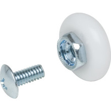 "3/4"" Oval Shower Door Wheel 2Pk"