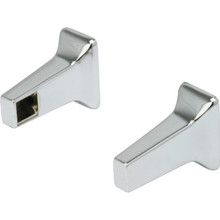 "Bar Bracket 5/8"" Chrome Pk/1 Pair"