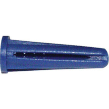 """#8-10 X 7/8"""" Tapered Plastic Anchors Box Of 100"""