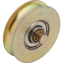""".7"""" x 1.3"""" x 2.5"""" Steel Sliding Glass Door Wheel Package of 2"""