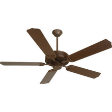"52"" Dual-Mount Ceiling Fan Aged Bronze"