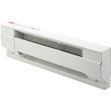 "Cadet 24"" 208/240 Volt 896/1,194 BTU White Baseboard Heater"