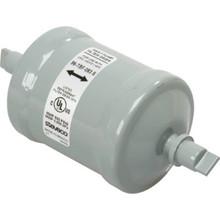"1.0-7.5 Ton 3/8"" Sweat Bi-Flow Liquid Line Filter Drier"
