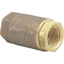 "Watts 3/4"" NPT Bronze Ball-Cone Check Valve"