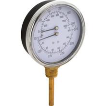 "2"" Dial 320F 200 PSI Temperature And Pressure Gauge"