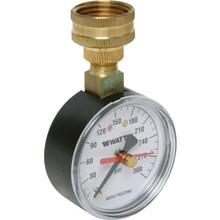 "Watts 2-1/2"" Dial 0-300 PSI Pressure Gauge"