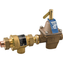 "1/2"" Union Solder Combo Feedwater And Backflow Preventer"