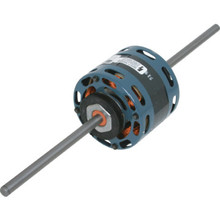 "Fasco D337 4.4"" 1/8 -1/15 Horse Power Double Shaft Motor"
