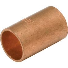 "3/8"" OD Copper Coupling No Stop"