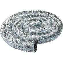 "Deflect-O 4"" Double-Ply Flexible Aluminum Duct"