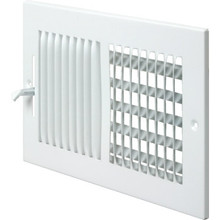 "20x6"" Two-Way Sidewall Register"