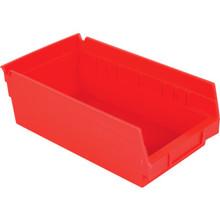 "4 x 6 x 18"" Akro-Mils Plastic Storage Shelf Bin 12 Per Package"