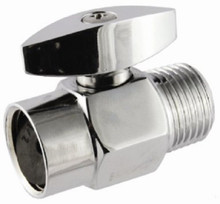 100% Shut-Off Shower Valve - Solid Brass Chrome Finish