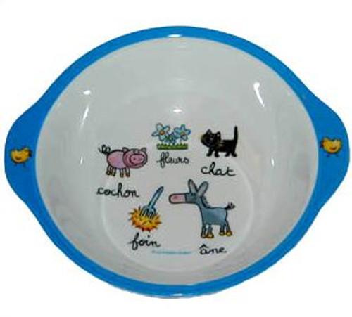 Baby Cie:  Farm Animals Bowl