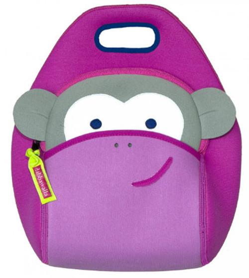 Dabbawalla Bags:  Pink Monkey Lunch Bag