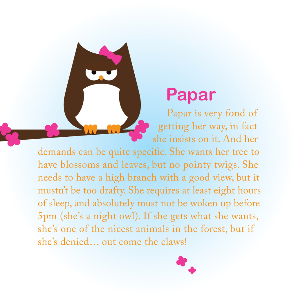 The story of Papar the Owl