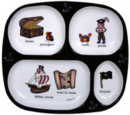 Baby Cie:  Pirate TV Tray Plate