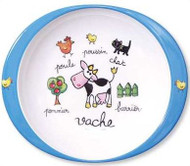 Baby Cie:  Farm Animals Plate