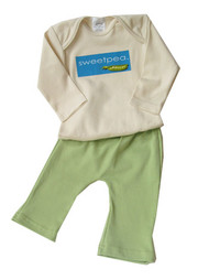 Parade:  Organic Sweetpea Outfit
