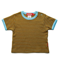 Scout:  Adventure Tee, Kelp with Ocean Stripe