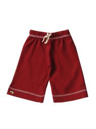 Kiwi:  Organic Karate Pant, Maroon Red