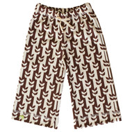 Kiwi:  Brown Vine Organic Karate Pants