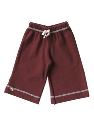 Kiwi: Organic Karate Pant, Cocoa Brown