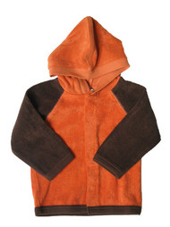 Kate Quinn Organics:  Terry Hooded Zip Jacket