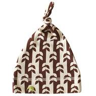 Kiwi:  Brown Vine Baby Cap