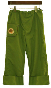 Hedgehog Hiker Pants: Hopper Green